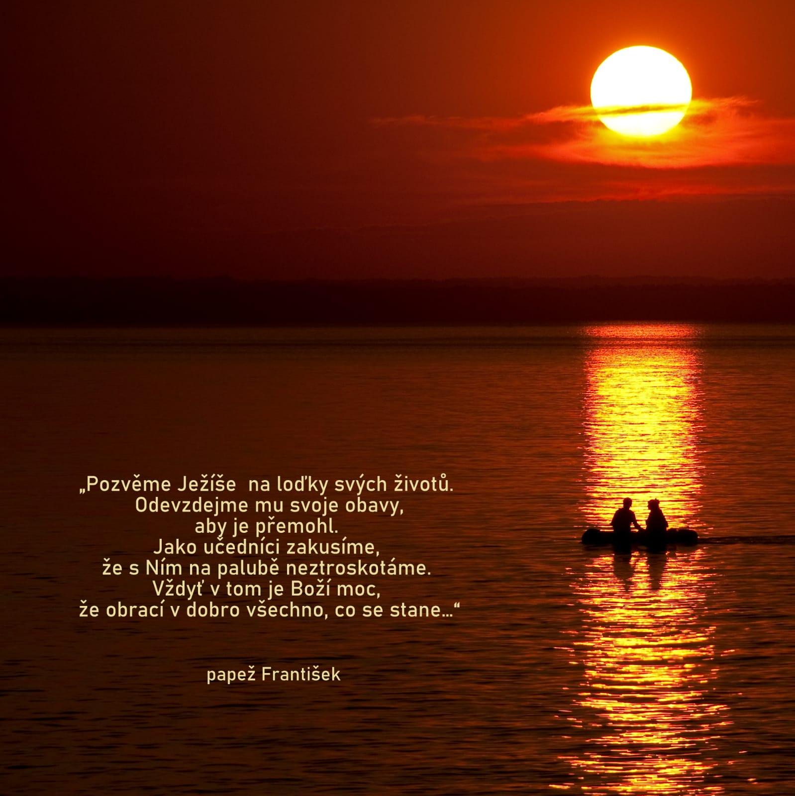 Pozvěme Ježíše na loďky svých životů