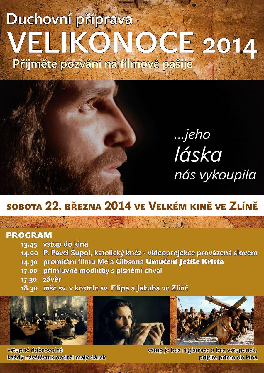Filmové pašije ve Zlíně - 22. 3. 2014