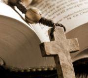 bible, růženec