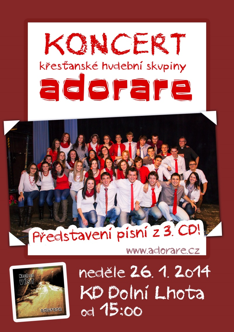 Adorare - koncert - 26. 1. 2014