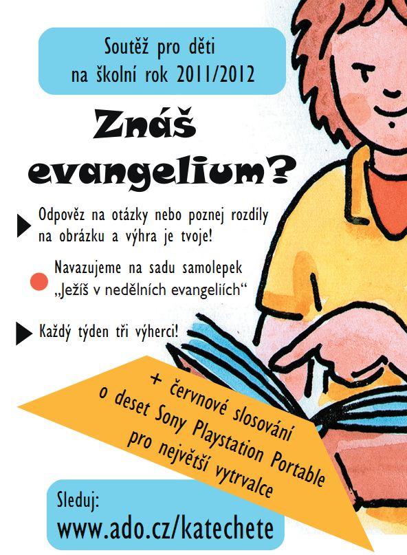 Soutěž Znáš evangelium?