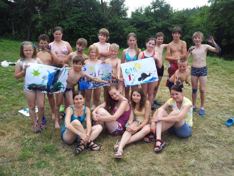 Farní tábor – Hvězdný prach 15. – 20. 7. 2013