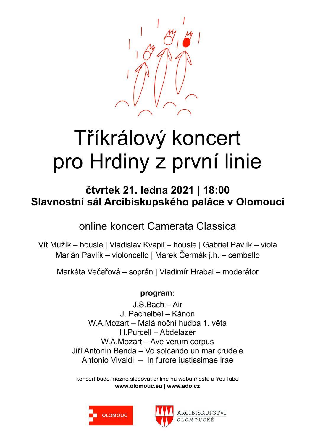 Tříkrálový koncert pro Hrdiny z první linie